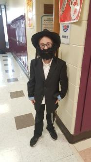 Daniel Carl was a mini Rabbi. I love the beard on him!