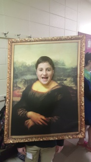 Mona Lisa!!! I of course had to take a picture of this costume!